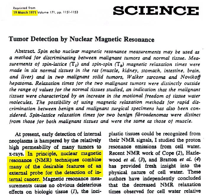 Science Magazine -19 March 1971